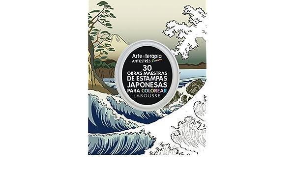 30 obras maestras de estampas japonesas para colorear: 9788416984671 ...