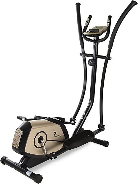 Fitfiu - BELIE1 Bicicleta elíptica, Pantalla de LCD, Unisex Adulto ...