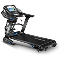 Sparnod Fitness STH-6000 3 HP (6 HP Peak) Automatic Motorized Treadmill for Home Use - Large 15.6 inches Touchscreen…