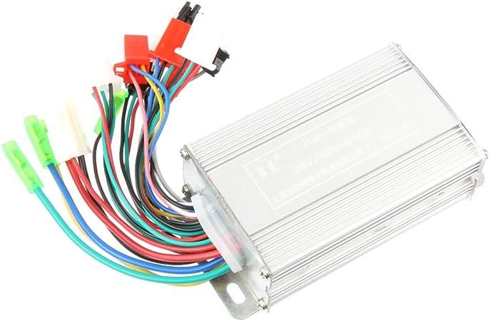 Steuergerät 36-48V 350W für Scooter E-Bike Motor Bürstenlos Controller mit LCD