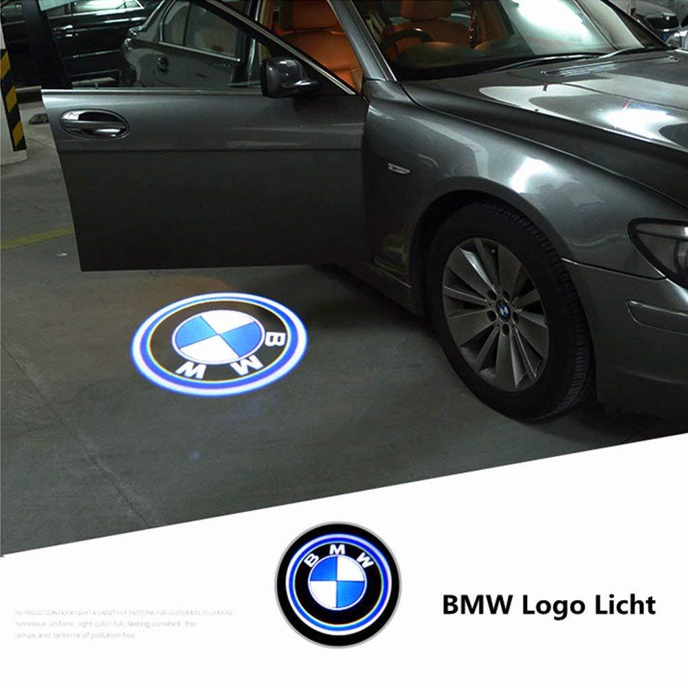 HConce 4 St/ück Autot/ür Einstiegsleuchte Projektion T/üreinstiegbeleuchtung mit Logo f/ür E90 E91 E92 E93 M3 E60 E61 F10 M5