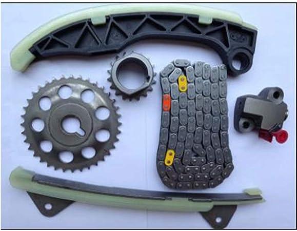 Motor 1KR-FE 1KRFE Juego de engranajes de la cadena de distribución para 2005-2018 Yaris Vitz Passo Aygo 1KR-FE 1KRFE Motor: Amazon.es: Coche y moto