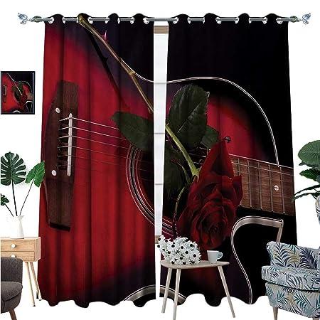BlountDecor - Cortinas Anchas para oscurecer la habitación, Color ...