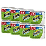 #7: Bounty Quick-Size Paper Towels, 16 Family Rolls, White
