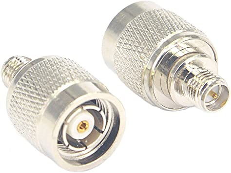 RP-SMA female to RP-TNC female connector adapter NEW