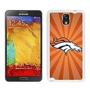 For Samsung Note 3,100% Brand New Denver Broncos 05 White For Samsung Note 3 Case
