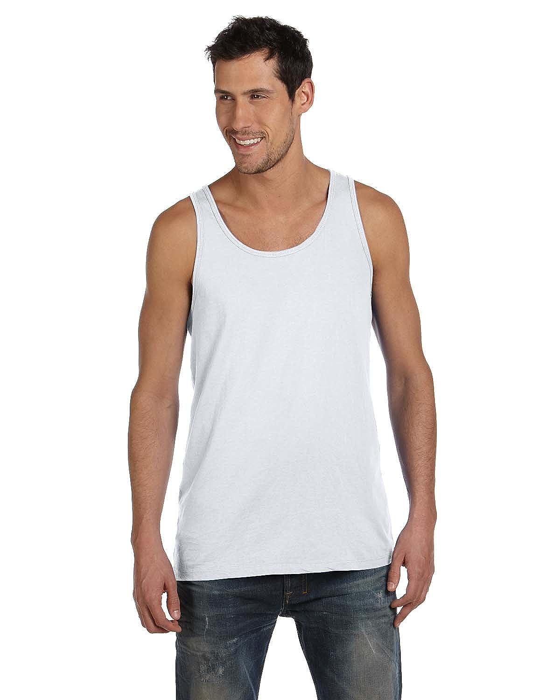 Gildan Adult Sleeveless Cotton Tank Top, White, Small
