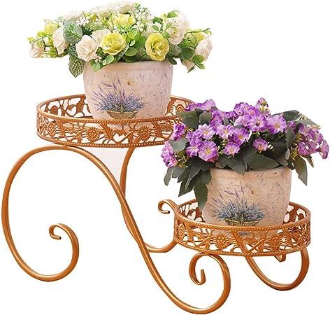 Jardin décoration-CSQ Support De Fleur De Fer, Plante Stand ...