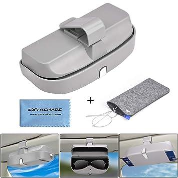 dbaa15930b Soporte para Gafas de Sol para Coche o Visera de Coche, Universal, Estuche  Organizador