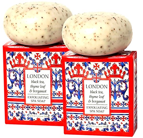 greenwich-bay-black-tea-exfoliating-spa-soap-enriched-with-bergamot-oil-shea-butter-and-cocoa-butter