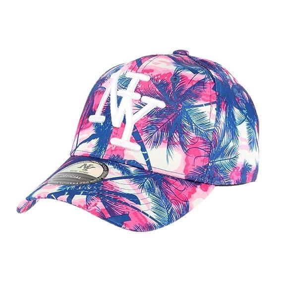 haut de gamme véritable grossiste super populaire casquette baseball enfant rose et bleu Tropical 7 à 12 ans ...