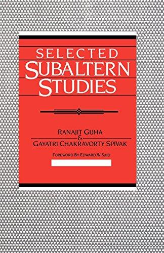 Selected Subaltern Studies