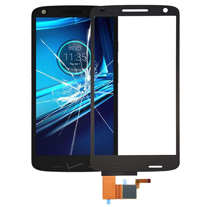 iPartsBuy for Motorola DROID Turbo 2 / XT1585 Touch Screen Digitizer Assembly (Black)