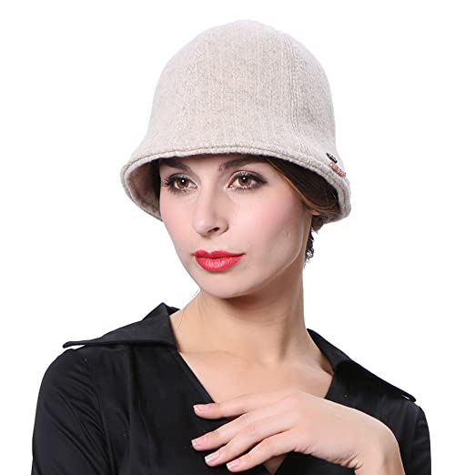 ed33d403664 June s Young Winter Hats Warm Caps Lady Fashion Dress Fedoras at ...