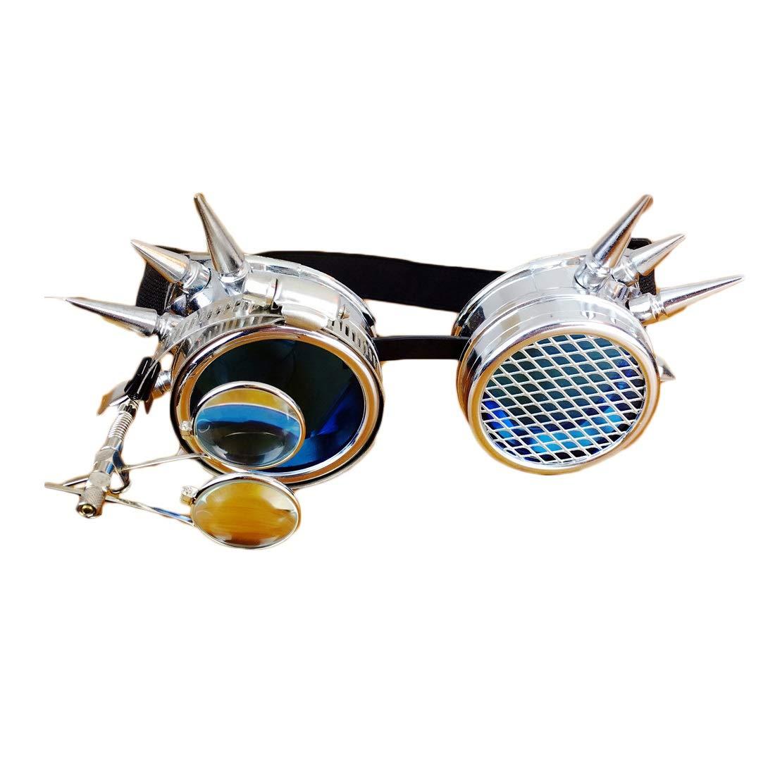 使い勝手の良い JOYS CLOTHING パンクゴーグルコスプレハロウィーンパーティー仮装小道具メガネ面白い (Color : Steampunk Steampunk CLOTHING goggles) Steampunk (Color goggles B07MBW55W5, 松浦市:f74e0ac2 --- a0267596.xsph.ru