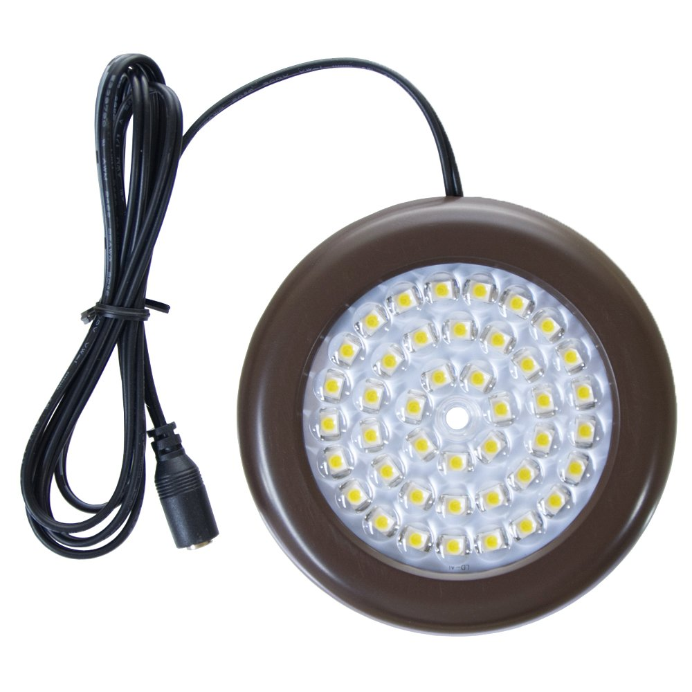 Lightkiwi J7117 3.5 inch Cool White LED Puck Light (Power Supply Not Included)