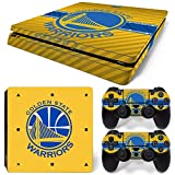 GoldenDeal PS4 Slim Console and DualShock 4 Controller Skin Set – Basketball NBA – PlayStation 4 Slim Vinyl For Sale
