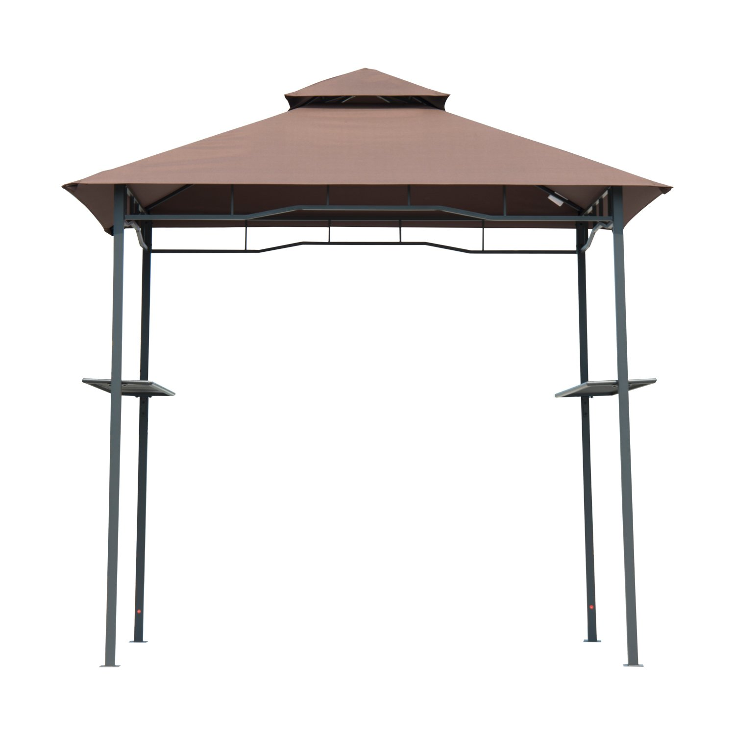 Amazon.com  Outsunny Outdoor 2-Tier BBQ Grill Canopy Tent 8-Feet  Sports Fan Canopies  Garden u0026 Outdoor  sc 1 st  Amazon.com & Amazon.com : Outsunny Outdoor 2-Tier BBQ Grill Canopy Tent 8-Feet ...