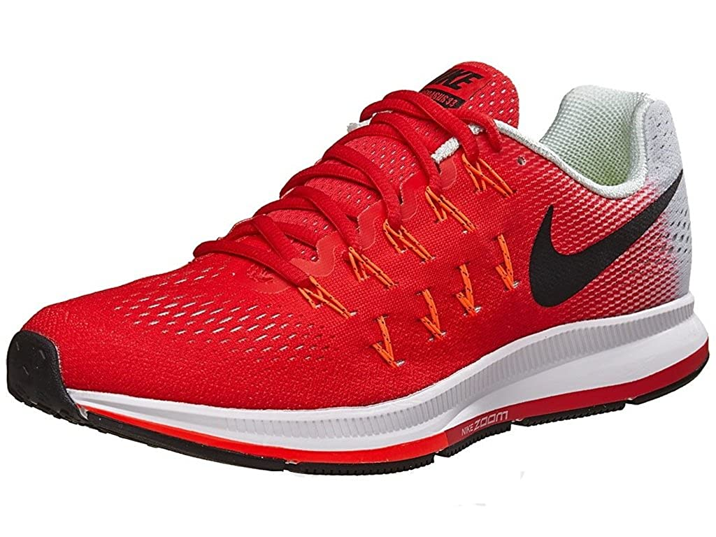 Nike Air Zoom Pegasus 33 Red Running Sport Shoes For Mens: Buy ...