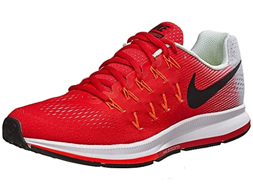 televisor Acusación textura  Buy Nike Air Zoom Pegasus 33 Red Running Sport Shoes for Mens at Amazon.in