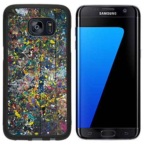 Liili Samsung Galaxy S7 Edge Aluminum Backplate Bumper Snap Case After painting unfinished color tables background 28183690