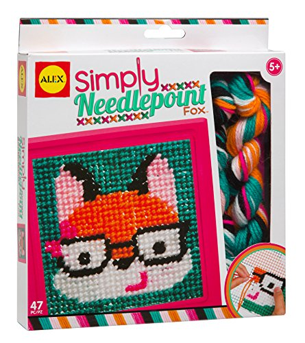ALEX Toys Craft Simply Needlepoint Fox Fox Needle