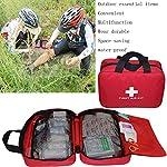 Kit vide de premiers soins en nylon Autoacc, sac de secours compact et léger pour les urgences à la maison, au bureau… 9