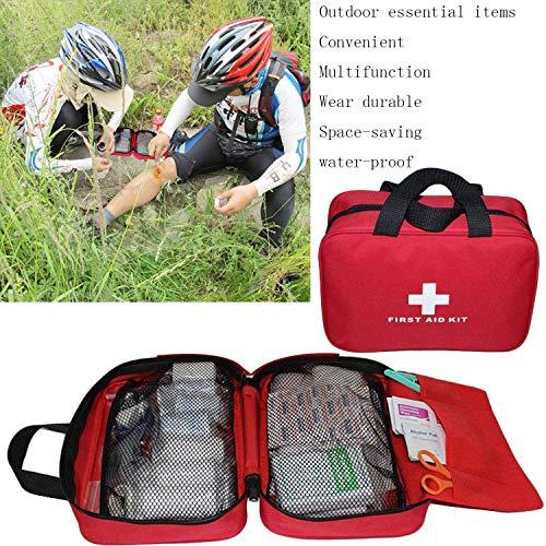 Kit vide de premiers soins en nylon Autoacc, sac de secours compact et léger pour les urgences à la maison, au bureau… 4