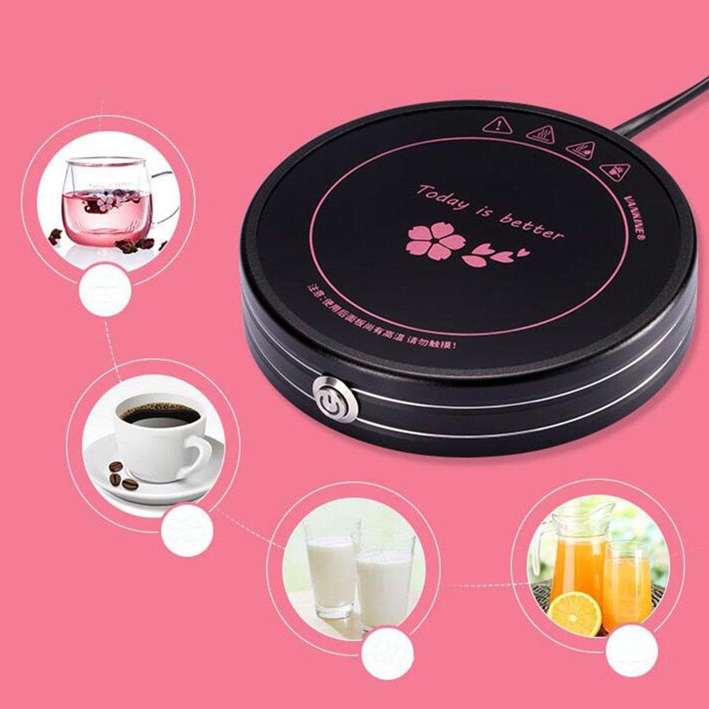 ... electrotérmica Práctico de costa / aislamiento de leche Tetera de calefacción base / tesoro termostático (Color : Negro) : Amazon.es: Hogar