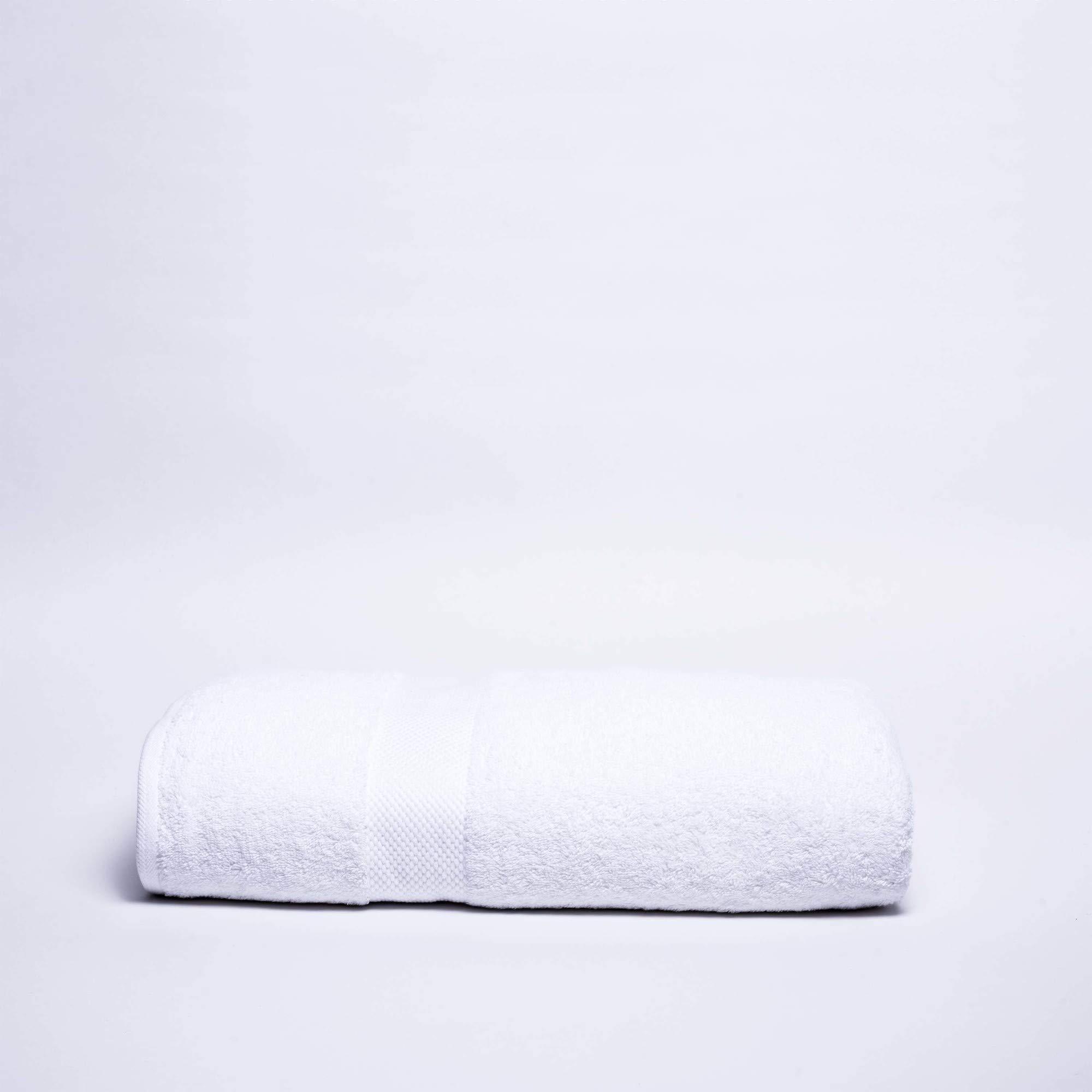 Martex Deluxe Bath Sheet, 36'' W x 72'' L, Optical White