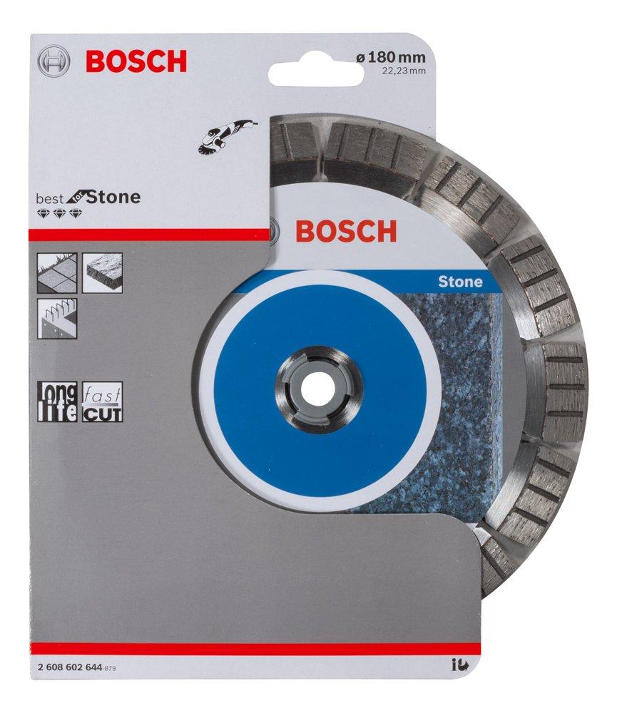 Bosch Professional Diamanttrennscheibe f/ür extrem hartes Gestein, /Ø: 125 mm, Zubeh/ör f/ür Winkelschleifer