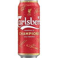 Cerveza Carlsberg Liverpool Premier league lata 500ml x 24 unidades