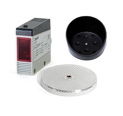 Telemecanique psn - det 63 13 - Detector fotoelectrico 3h.npn recto conector