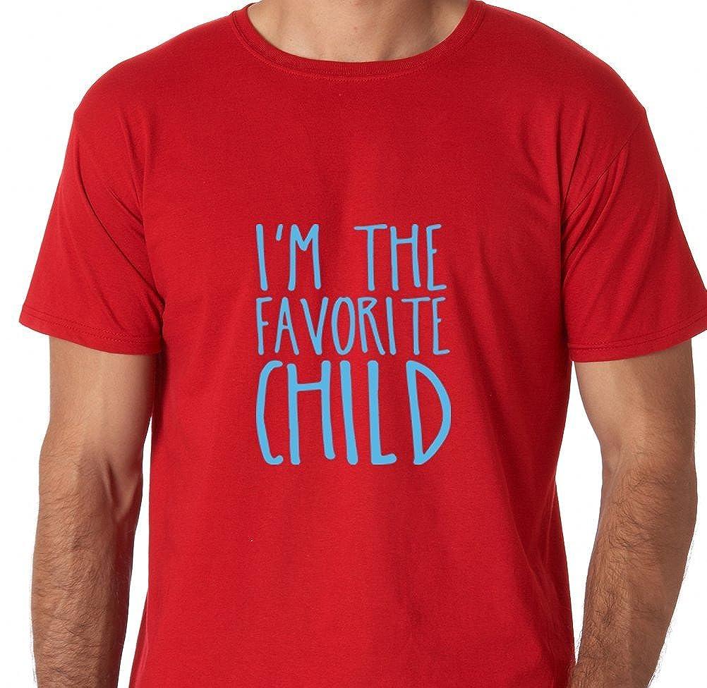 4656b1dfd Amazon.com: AW Fashions I'm The Favorite Child - Cool Tee Premium Men's T- Shirt: Clothing