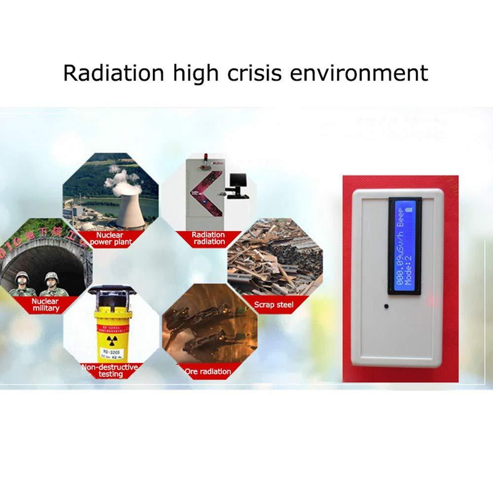 Hengyuanyi D/étecteur de rayonnement nucl/éaire Dosim/ètre Geiger Compteur haute sensibilit/é Moniteur num/érique