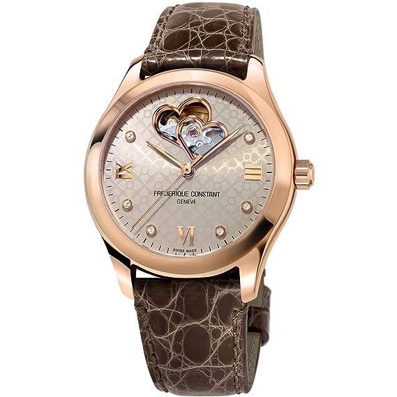 Frederique Constant Geneve Ladies Automtic FC-310LGDHB3B4 Reloj Automático para Mujeres