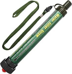 DeFe Filtro de Agua 2000L Personal Sistema de Filtración de Agua Mini Purificador de Agua Portátil para Excursionismo Campamento Acampada Supervivencia y Preparación de Emergencias: Amazon.es: Deportes y aire libre