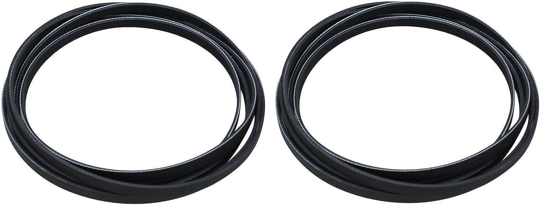 (2 Pack) Dryer Drum Belt 5 Rib für Samsung 6602-001655 Dryer Belt (sehen Model passen List)