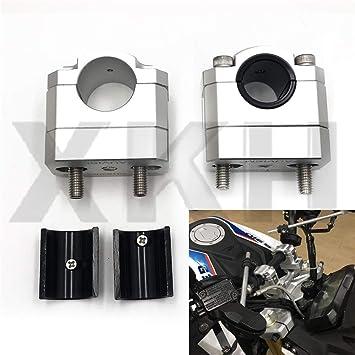 HTTMT HB-RISER001-2X 22-28MM HandleBar Handle Fat Bar Mount Clamp Riser Compatible with Honda CB500X 2013 2014
