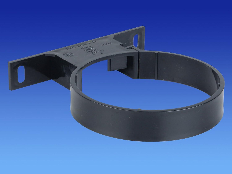 Osma Grey Pipe Bracket 4S082 82mm