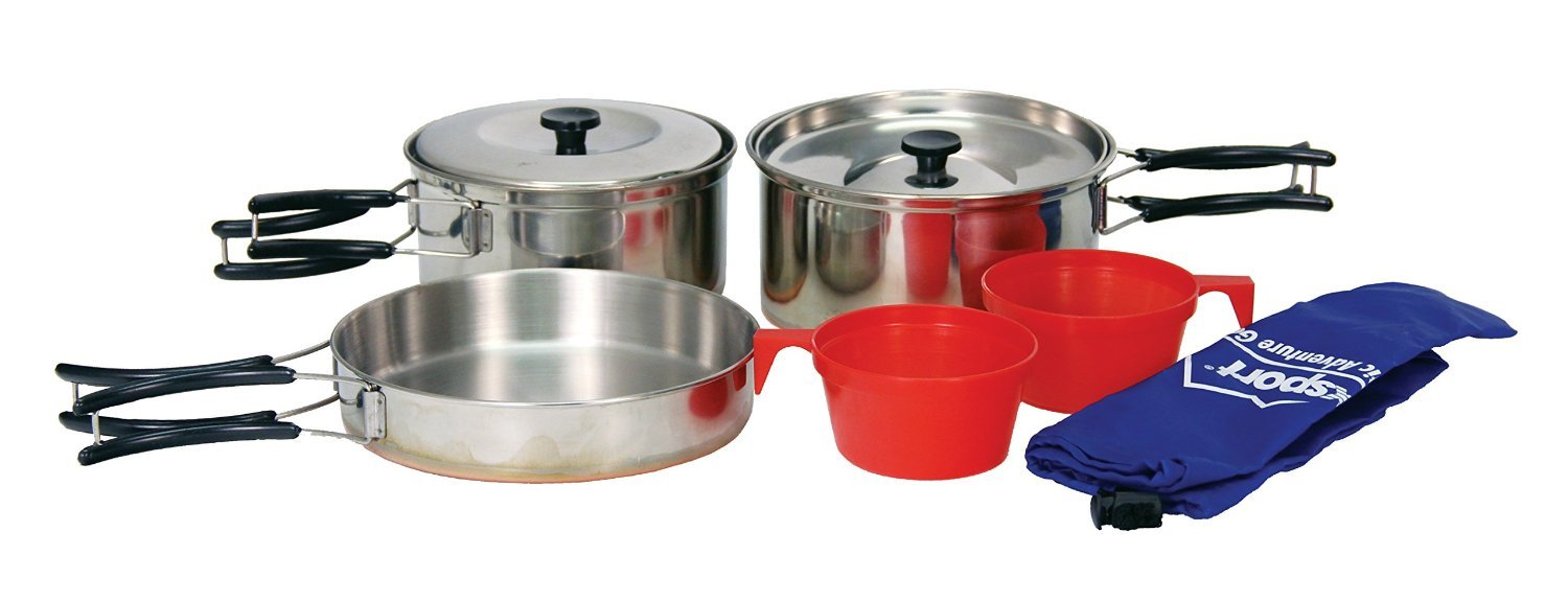 Ledmark 2 Person Cook Set by TrekMate