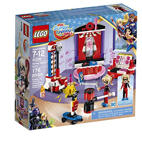 LEGO DC SUPER HERO GIRLS Harley Quinn Dorm 41236 Building Kit (176 Piece)