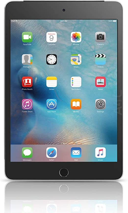 Apple Ipad Mini 4 128gb Space Gray Wifi Cellular Renewed Computers Accessories