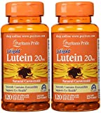 Cheap Puritan's Pride 2-pack of Lutein 20 Mg with Zeaxanthin-120 Softgels (240 Total)