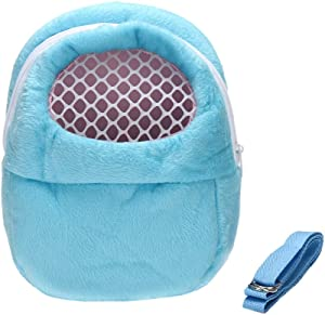 DETOP Pet Carrier Bag Hamster Portable Breathable Outgoing Bag for Small Pets Like Hedgehog,Sugar Glider and Squirrel etc(Large)