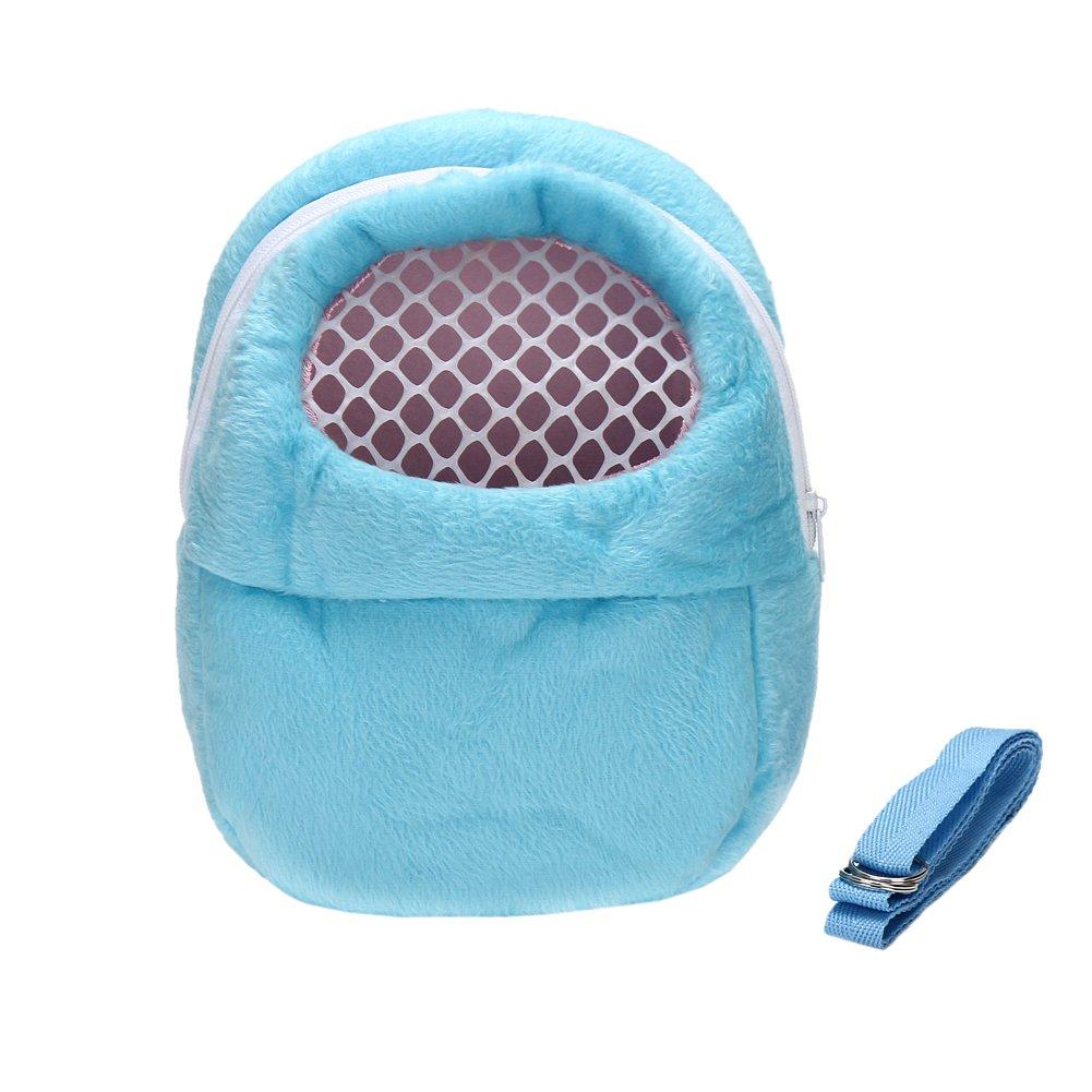 DETOP Pet Carrier Bag Hamster Portable Breathable Outgoing Bag Small Pets Like Hedgehog,Sugar Glider Squirrel etc(XL)