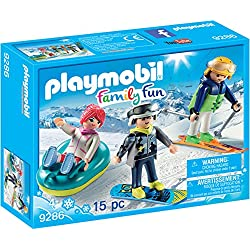 PLAYMOBIL Winter Sports Trio Building Set