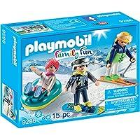 PLAYMOBIL® Winter Sports Trio Building Set