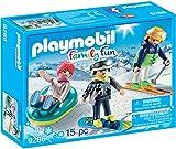 PLAYMOBIL Winter Sports Trio Building Set