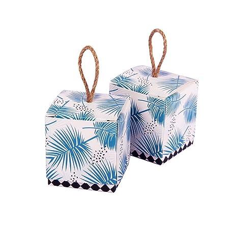 Shsyue® Cajas de Bautizo Caramelo para Recuerdos Cumpleaños ...